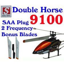 Double Horse 9100 RC Helicopter 3.5ch + FREE SPARE  BLADES