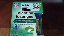 Rite Aid Mini Nicotine Lozenges 2mg, 81 Lozenges Mint. Exp. 02/21
