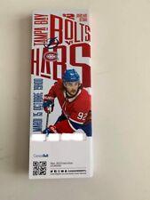 unused season hockey tickets Canadiens featuring Jonathan Drouin oct 15