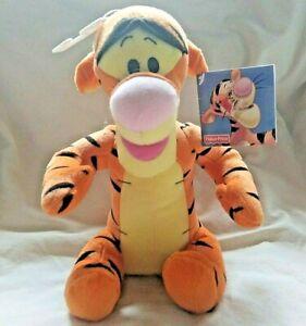 "Disney Fisher Price Winnie The Pooh Tigger Plush Animal with Tag 10"" 2001 Soft"