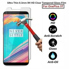 9H Premium Clear Tempered Glass Screen Protector Guard Film For OnePlus (1+ ) 5T