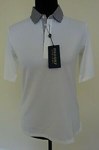 Polo Ralph Lauren White Golf Polo Womens Size S Wicking $98 New