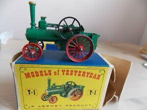 MATCHBOX MODELS of YESTERYEAR . Rare LESNEY  Y1 Series 1,ALLCHIN.   #CP#