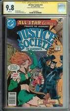 All-Star Comics #72 SS CGC 9.8 x2 Auto Levitz Staton JSA Huntress