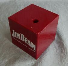 Vintage Parker PenButgundy  Desk Cube Jim Beam Advertising New #W