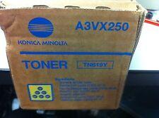 ORIGINALE KONICA TN-619Y A3VX250 TONER GIALLO BIZHUB C1000 C1070 C1060 a-Ware