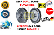 FOR CITROEN C4 I 2.0HDI HB COUPE 136BHP 2004-2011 NEW DUAL MASS DMF FLYWHEEL