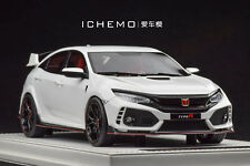 1/18 MOTORHELIX Honda Civic Type R FK8 Prototype LHD Gloss White 2017