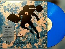 SIGNED: Longpigs - The Sun Is Often Out - BLUE Vinyl LP - signed by Crispin Hunt