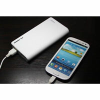 50000mAh Portable External Power Bank Backup Battery Charger for iPhone iPad WHI