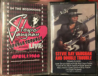 Stevie Ray Vaughan And Double Trouble LIVE Austin 1980 Texas Flood Cassette lot