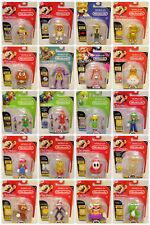 World of Nintendo 4.5 inch Action Figures Sealed - YOUR CHOICE - Jakks Mario WON
