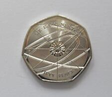 Sir Isaac Newton 50p. - Free Postage - New - Uncirculated.