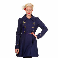 Manteaux et vestes bleu en laine pour femme