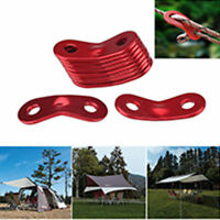 Tent Rope Fastener  Guyline Tensioner Camping Accessories  5pcs Rope Adjuster