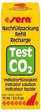 sera CO2-Reagenz - Dauertest Nachfüllpackung / Refill (1 x 15 ml)