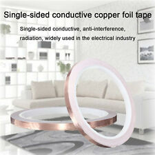 6mm x10m Foil Tape Single-Sided Conductive Self Adhesive Copper Heat