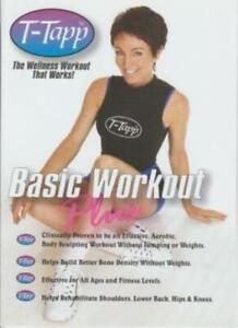 T-Tapp Basic Workout Plus DVD VIDEO FITNESS wellness rehab body rehabilitate fit