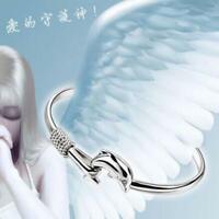 le donne regalo gioielli bracciali. placcati in argento delfino braccialetto