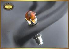 Lovely Natural Baltic Amber Earrings Honey