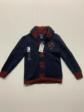 Ralph Lauren Boys Shawl Collar Sweater POLO size 5