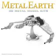 Metal Earth Star Trek Klingon Bird of Prey Ship Laser Cut 3D Model