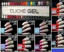 Infinite Shine Gel Effect Nail Polish NEW COLORS LOT of6 WORK WITH NO uv MACHINE