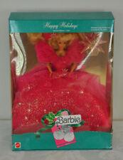 NEW 1990 Holiday Barbie Happy Holidays Mattel