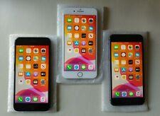 3 units Apple iPhone 8 Plus - 256GB - (Unlocked) A1864 (CDMA + GSM) Black Silver