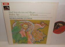 ASD 2506 Ravel Intro & Allegro Poulenc Trio & Sonata Francaix The Melos Ensemble