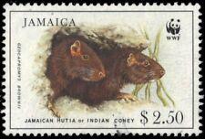 "JAMAICA 857 - Jamaican Hutia ""Geocapromys brownii"" WWF (pa90154)"