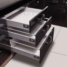 Schubladensystem Küchenschublade Schublade | MODERN BOX A-Klein Grau oder Weiß