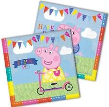 Peppa Pig Pack Of 16 Napkins Party 2 Ply Tableware New Gift