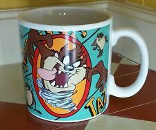 Looney tunes taz mug Tasmanian Devil cartoon Coffee Cup Warner Bros brothers WB!