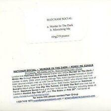(49D) Hatcham Social, Murder in the Dark - DJ CD