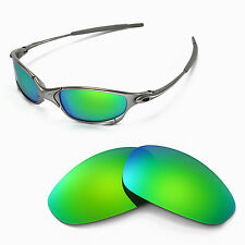 New Walleva Polarized Emeraldine Replacement Lenses For Oakley Juliet Sunglasses