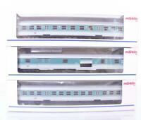 MARKLIN 4258 4259 42931 - DB CITY BAHN SUBURBAN PASSENGER COACH SET with BIKES
