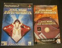 Star Wars Jedi Starfighter Sony PlayStation 2 Game Complete 2002 Classic