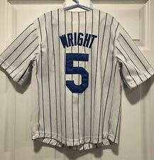 New York Mets David Wright Majestic Youth Jersey size 8 Sewn On Letters