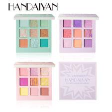 HANDAIYAN Pearlescent Matte 9-Color Eyeshadow Palette Fine Powder