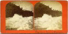 Stereoview Photo Whirlpool Rapids Niagara Falls New York