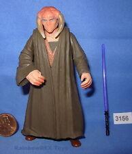 Star Wars 2001 SAESEE TIIN Jedi Master POTJ 3.75 inch Figure COMPLETE