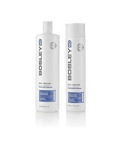 Bosley MD BosRevive Non Colour Treated Hair Nourishing Shampoo - 300ml & 1L