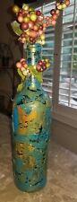 handmade decorative wine bottles