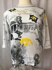 University Of Iowa State Hawkeyes College Fight Song Bling P.Michael size Large
