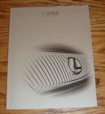 Original 2007 Lexus Full Line Sales Brochure 07 LS GS ES IS SC RX GX LX