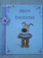 Boofle to Mum From Daughter Happy Mother's Day Greeting Card Embellished Cards