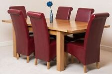 Contemporary Table & Chair Sets with Extending and 7 Pieces