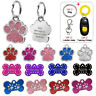 Custom Personalised Dog Tags Engraved Pet Cat ID Name Collar Tags Free Clicker