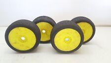 Used 1/8 AKA IBEAM 4WD Buggy Wheels & Tyres Set 4